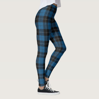 Clan Ramsay Blue Hunting Tartan Leggings