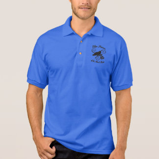 Clan Raven of the Black Rose Polo Shirt
