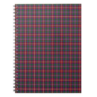 Clan Ritchie Tartan Notebook