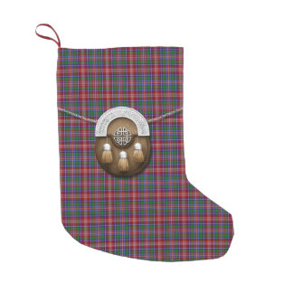 Clan Ritchie Tartan Small Christmas Stocking