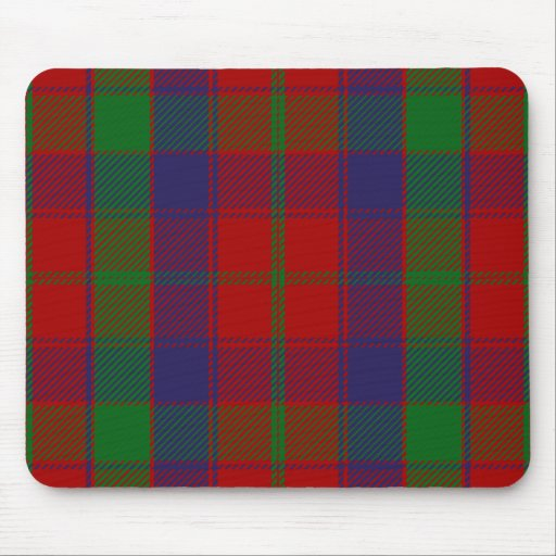 Clan Robertson Tartan Mouse Pads