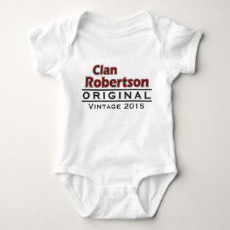 Clan Robertson Vintage Customize Your Birthyear Baby Bodysuit