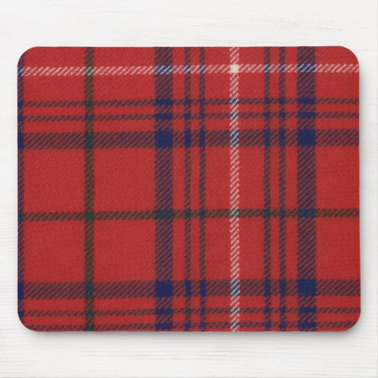 Clan Rose Tartan Mouse Pad