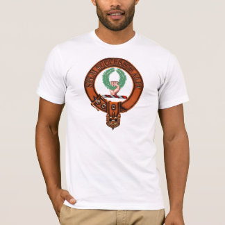 Clan Ross Family Crest and Targe T-Shirt
