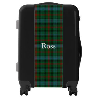 Clan Ross Hunting Tartan Customize Your Name Luggage