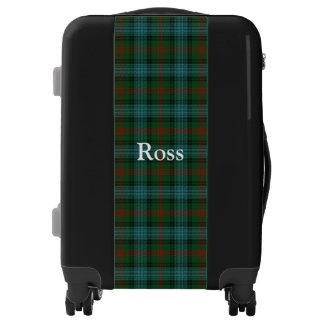 Clan Ross Hunting Tartan Customize Your Name Luggage