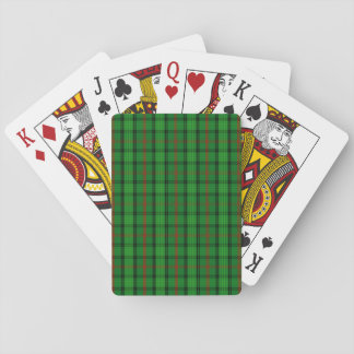 Clan Ross Tartan Playing Cards