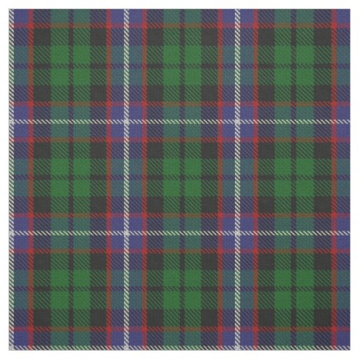 Clan Russell Scottish Tartan Plaid Fabric