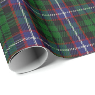 Clan Russell Scottish Tartan Wrapping Paper