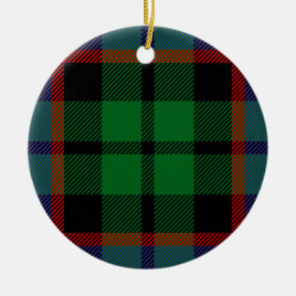Clan Russell Tartan Christmas Ornament