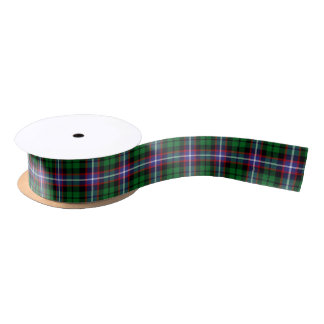 Clan Russell Tartan Satin Ribbon