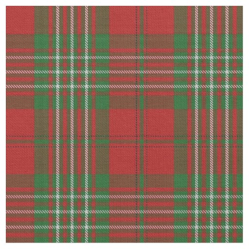 Clan Scott Scottish Tartan Plaid Fabric