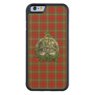 Clan Scott Tartan Celtic Trinity Maple iPhone 6 Bumper Case