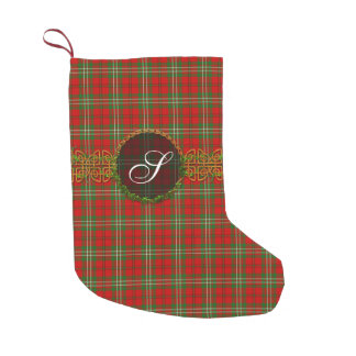 Clan Scott Tartan Small Christmas Stocking
