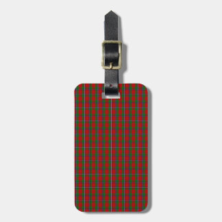 Clan Sinclair Tartan Luggage Tag