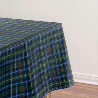 Clan Smith Royal Blue and Green Scottish Tartan Tablecloth