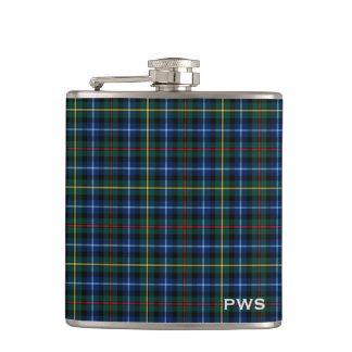 Clan Smith Tartan Monogram Flasks