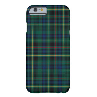Clan Stewart Green and Blue Hunting Tartan Barely There iPhone 6 Case