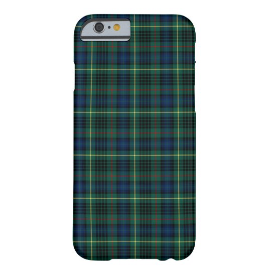 Clan Stewart Green and Blue Hunting Tartan Barely