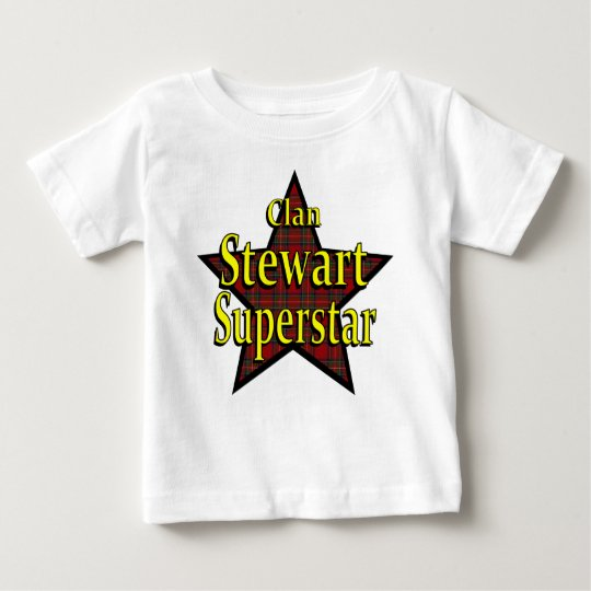 Clan Stewart Superstar Infant T-Shirt