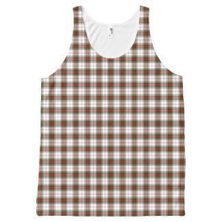 Clan Stuart Dress Tartan Plaid Pattern Tank Top