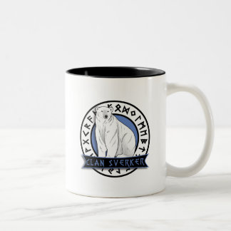 Clan Sverker mug. Two-Tone Coffee Mug
