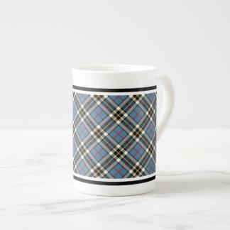 Clan Thompson Blue Dress Tartan Bone China Mug