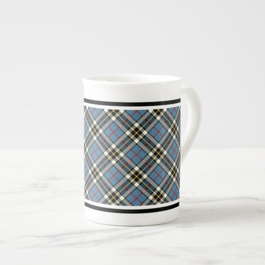 Clan Thompson Dress Tartan Light Blue Plaid Tea