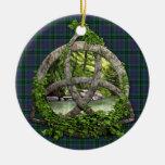 Clan Walker Tartan Celtic Trinity