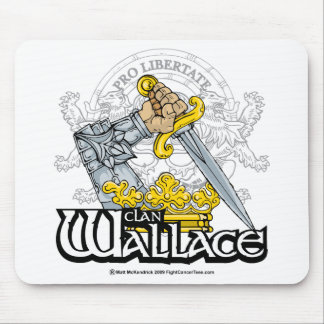 Clan Wallace Mouse Pad