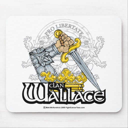 Clan Wallace Mouse Pads