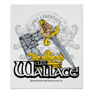 Clan Wallace Poster