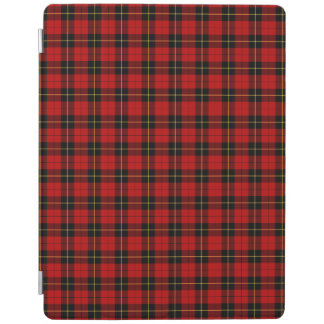 Clan Wallace Red and Black Scottish Tartan iPad Cover