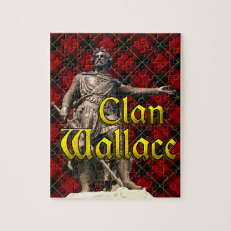 Clan Wallace Scottish Freedom Jigsaw Puzzle