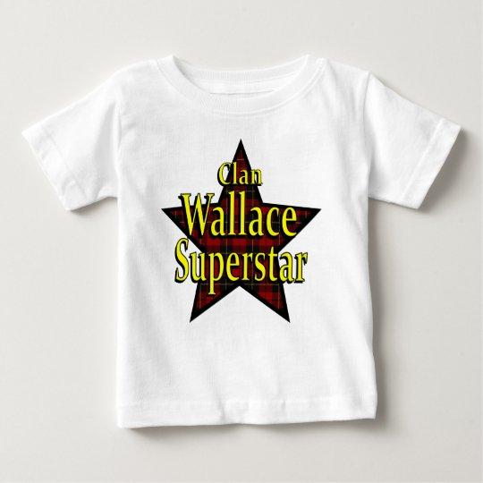 Clan Wallace Superstar Infant T-Shirt