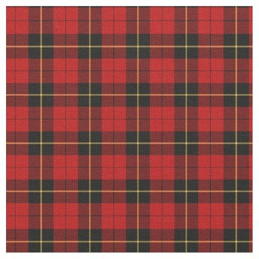 Clan Wallace Tartan Fabric