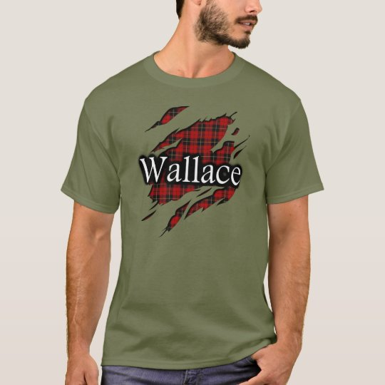 Clan Wallace Tartan Spirit Shirt