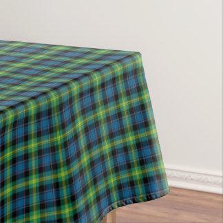 Clan Watson Bright Blue and Green Scottish Tartan Tablecloth
