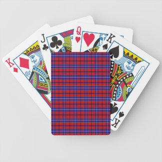 Clan Wishart Dress Tartan Bicycle Playing Cards