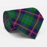 Clan Young Letter Y Monogram Tartan Tie