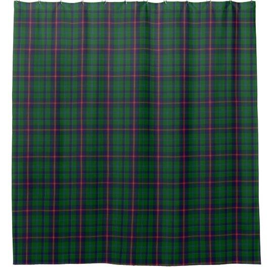 Clan Young Tartan Shower Curtain