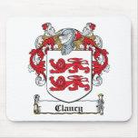 Clancy Family Crest Mouse Mat