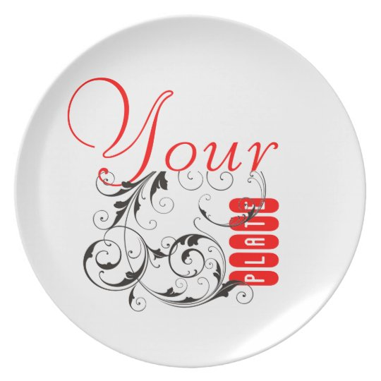 Clandestine Chefs' Official Personalised Plate