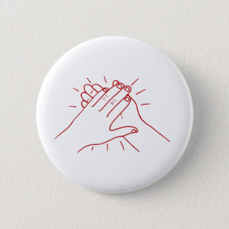 Clap Your Hands 6 Cm Round Badge