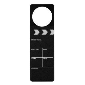 clapboard cinema door hangers