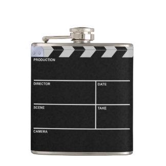 clapboard cinema flask