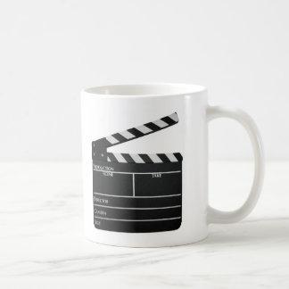 Clapboard Film Movie Slate Coffee Mug