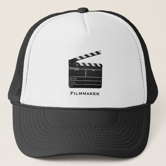Clapboard, Filmmaker Trucker Hat