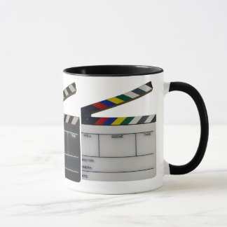 Clapboard movie filmmaker slate mug