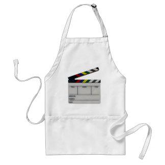 Clapboard movie filmmaker slate standard apron
